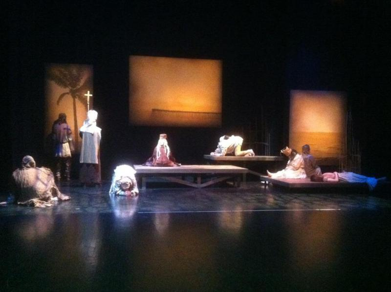 A scence from Zoot Theatre Company's production of The Pearl