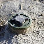 Afghan landmine