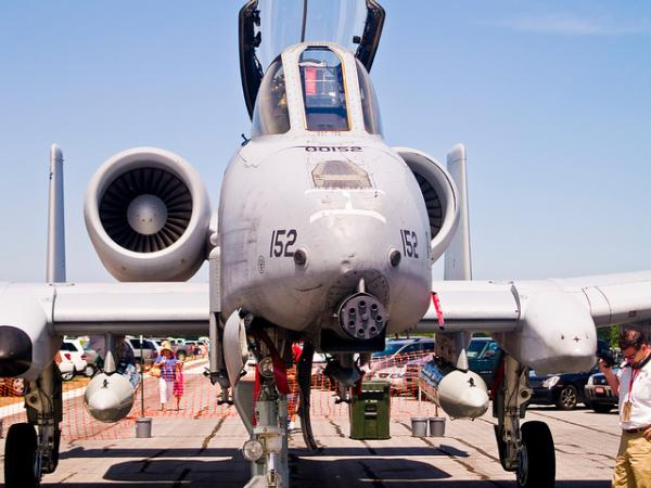 a-10 military fighter plane jet airplane