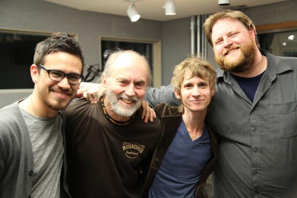 Josh Gonzalez, Shakin' Dave Hussong, Noah Wotherspoon, and Rob Thaxton