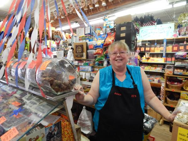 Annie Chapman has worked at Foy's in Fairborn for ten years.