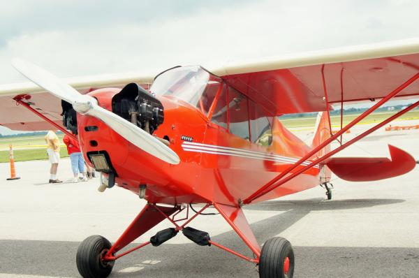 Attendees turned out to enjoy Clark County's first ever Barnstorming Carnival at Springfield Beckley Municipal Airport. airplane