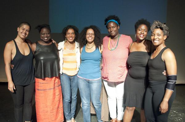 These artists, shown above in order, are: Awilda Rodríguez Lora (San Juan, PR), Rosamond S. King  (Brooklyn, NY), Wura-Natasha Ogunji (Austin, TX and Lagos, Nigeria), Miré Regulus (Minneapolis), Kenyatta A. C. Hinkle  (LA), Gabrielle Civil (Antioch College) and Duriel E. Harris (Chicago).