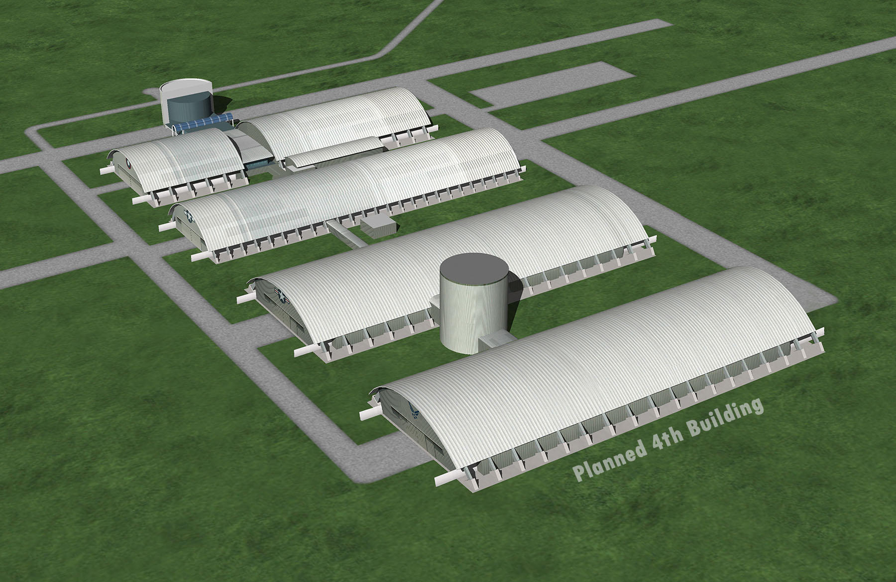Air force museum releases plan for new building wyso for House plans with future expansion