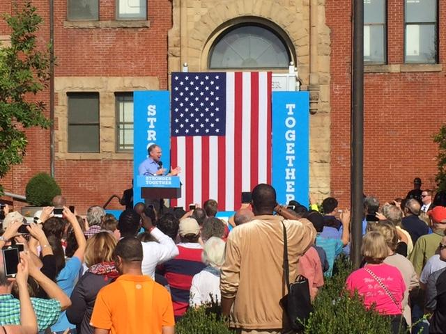 Clinton, Kaine Rally Voters in Pittsburgh, Philadelphia