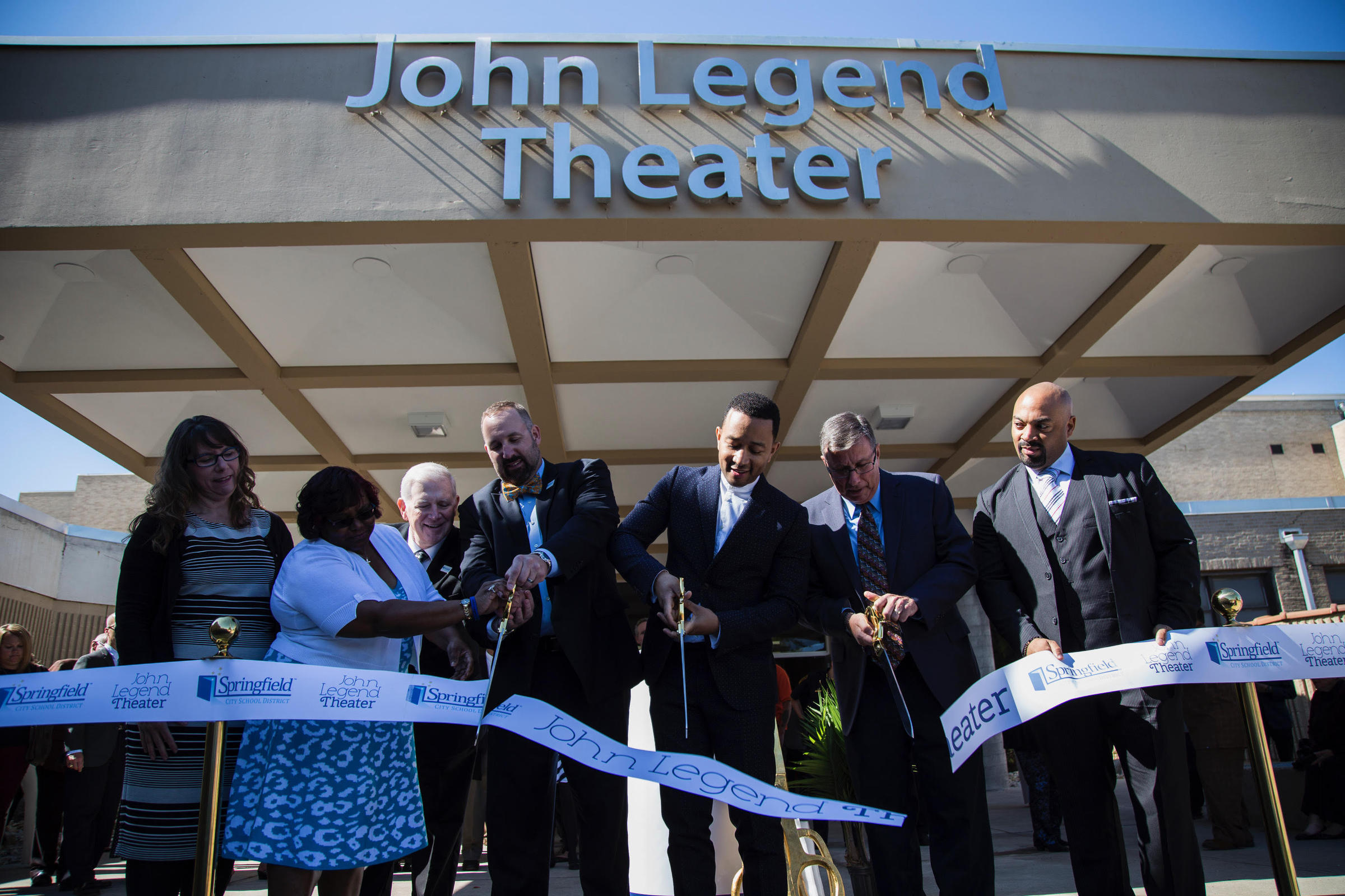Singer John Legend opens Ohio Theater named in his honor