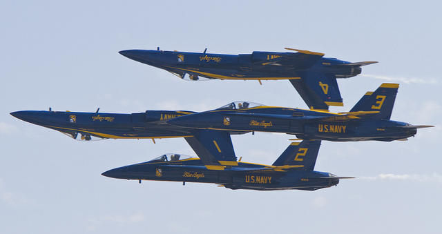 Blue Angels Returning To Great Tennessee Air Show In 2019