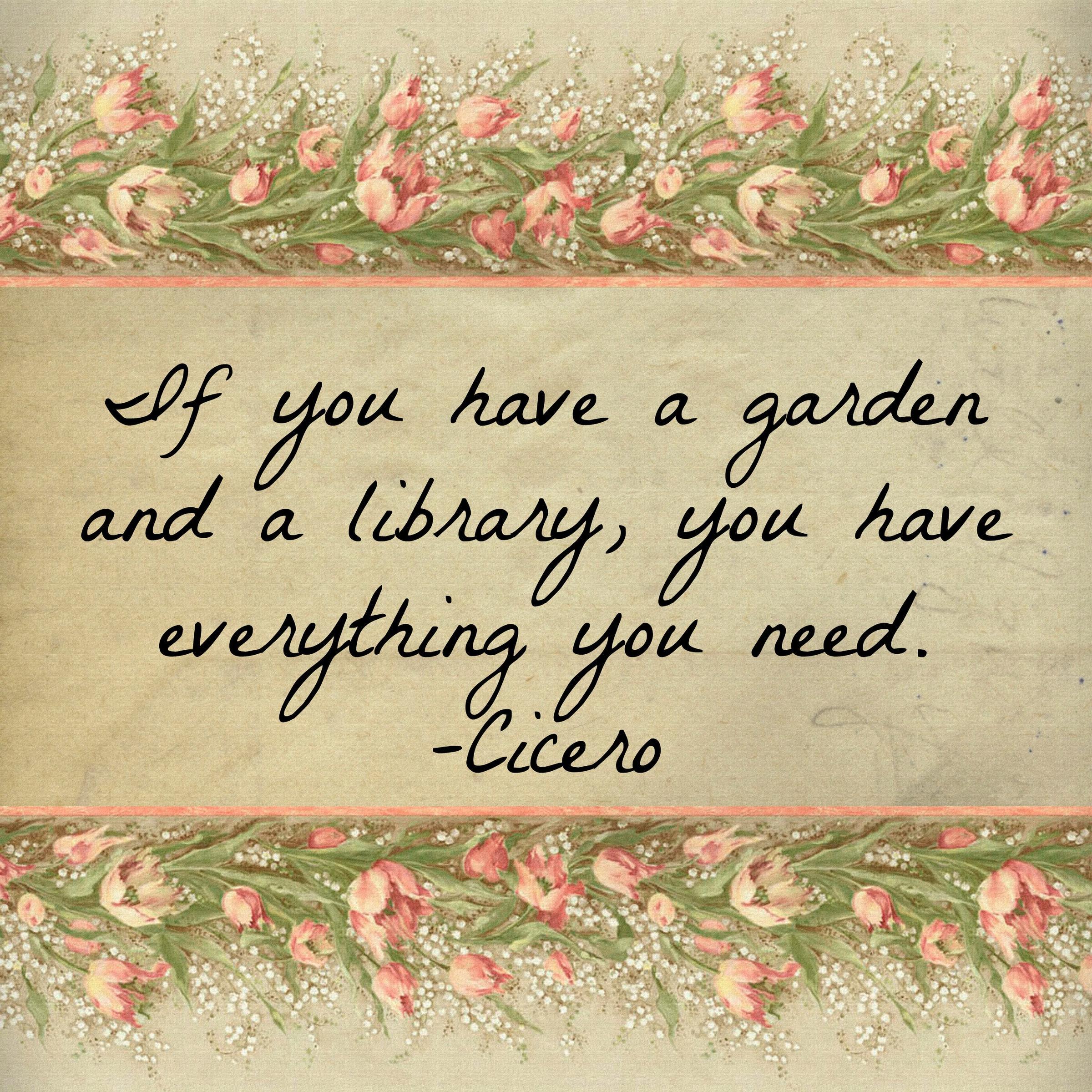 A garden of garden quotes