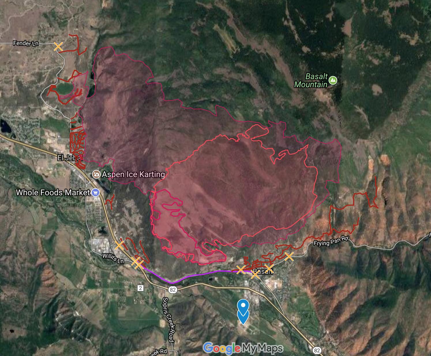 Lake Christine Fire Updates | Aspen Public Radio