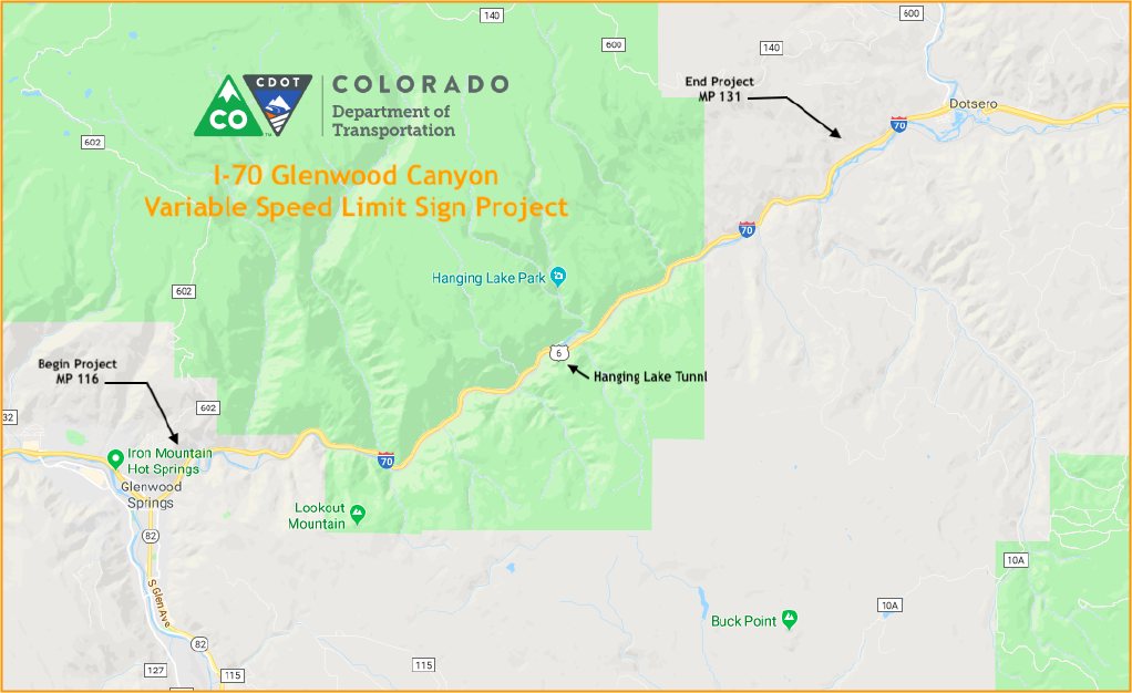 Speed Limit Rising On I-70 | Aspen Public Radio