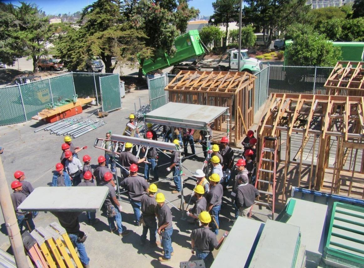 Training for construction jobs in San Francisco in the midst of a