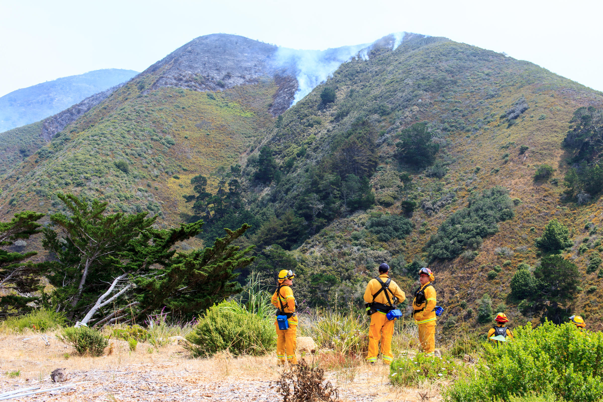 Soberanes Fire Updates 132 127 Acres Contained