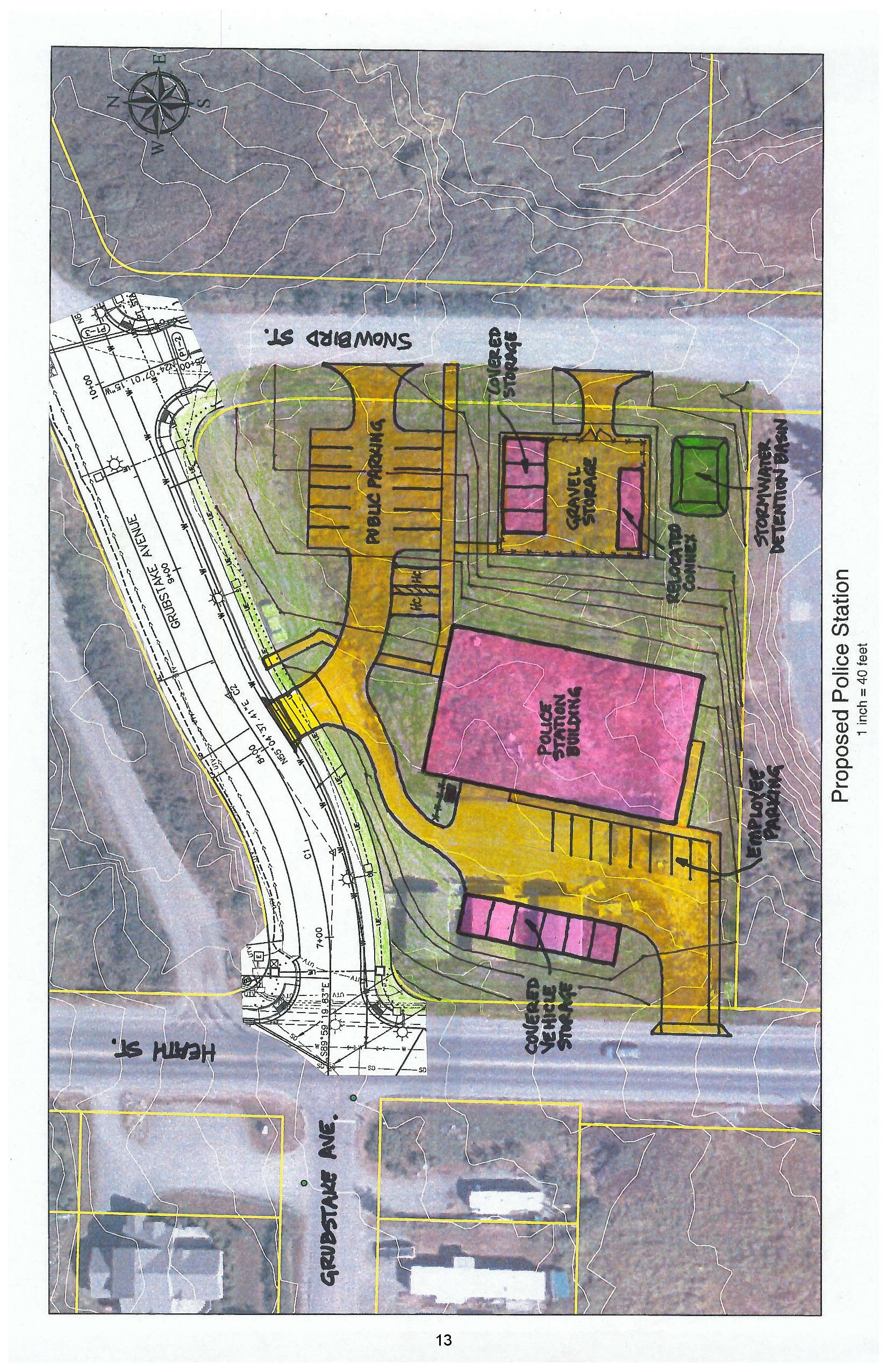 Council gains some consensus on police station project | KBBI