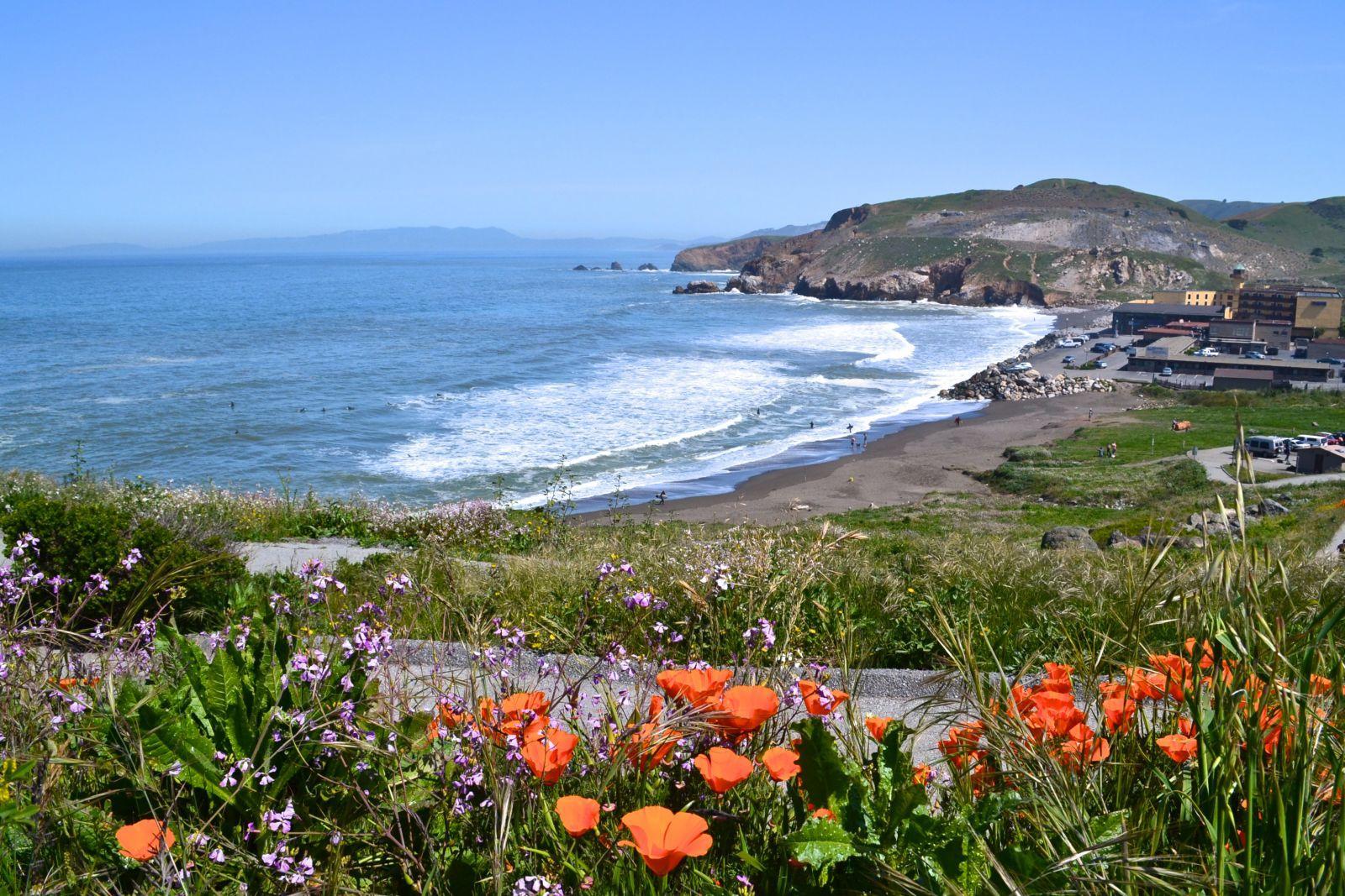 Rockaway Beach Pacifica California