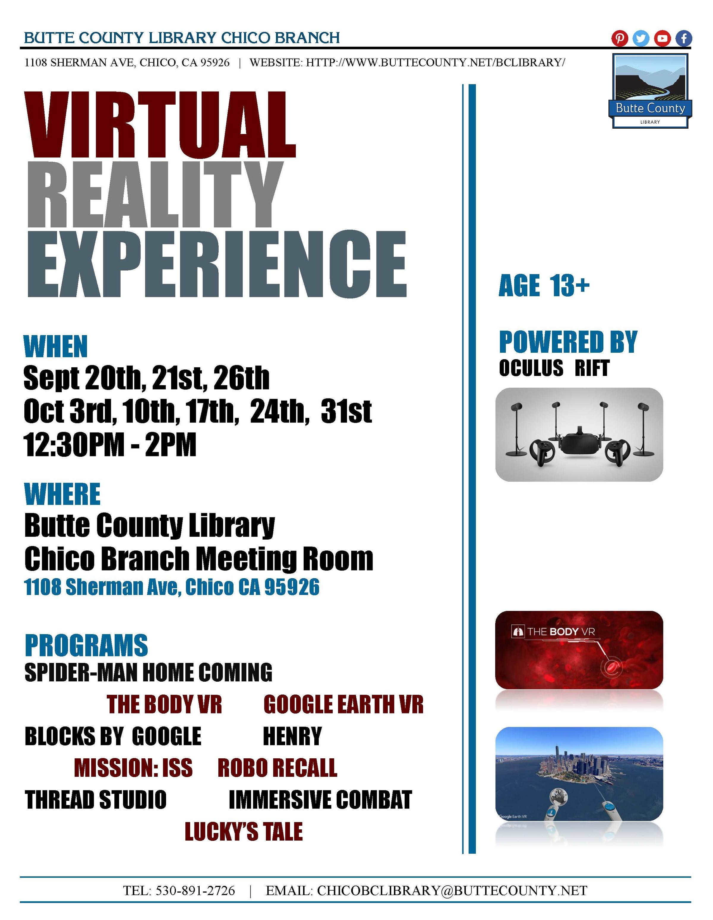 Virtual Reality In The North State: Chico State Students
