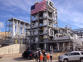 A massive new-generation ethanol plant in the southwest corner of Kansas is undergoing final adjustments as it prepares to begin full-scale production.