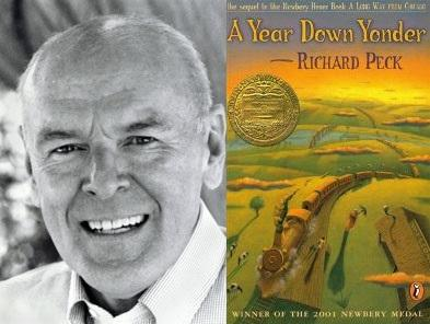 Richard peck author biography for book