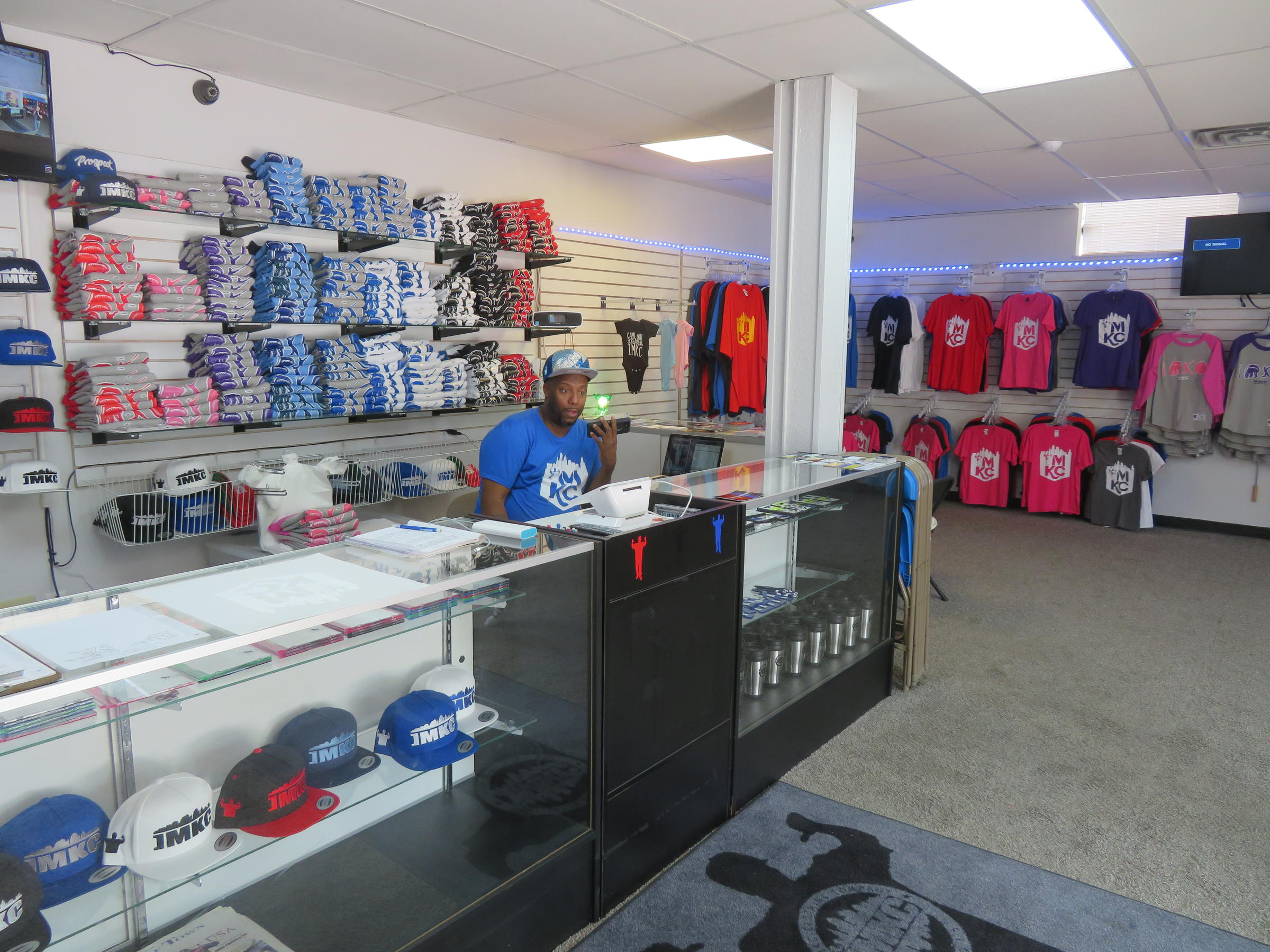 Proud Kansas City Rapper Ditches Dark Alleys For A Storefront At