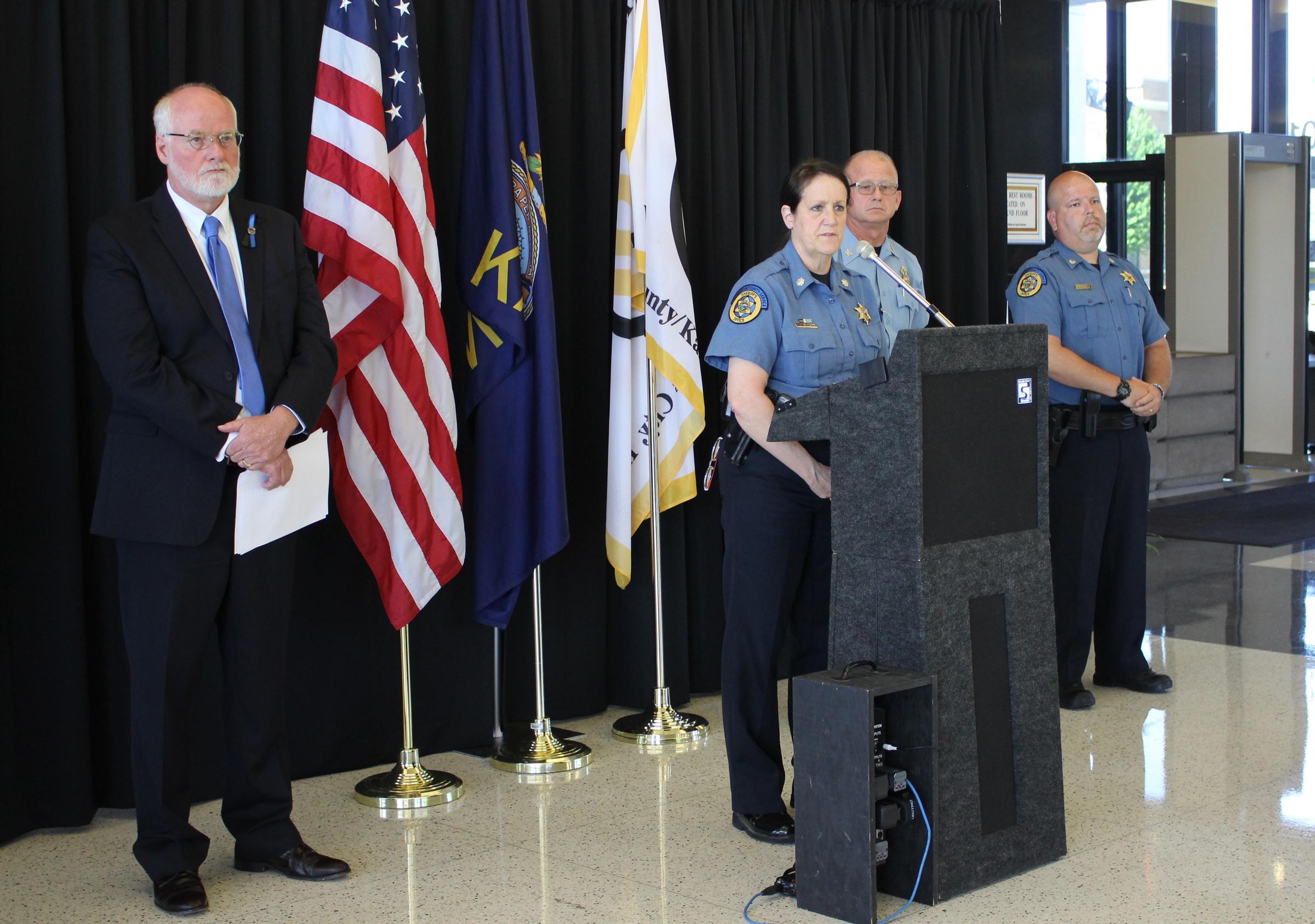 Two Wyandotte County Sheriff's Deputies Dead After Shooting Near