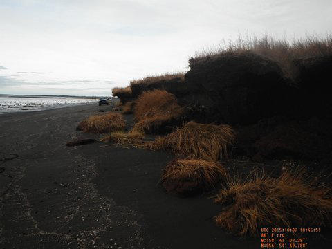 western hair styles map plots coastal erosion in eight western alaska 3082