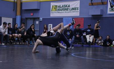 Dillingham dominates the mat at Sockeye Conference Regionals