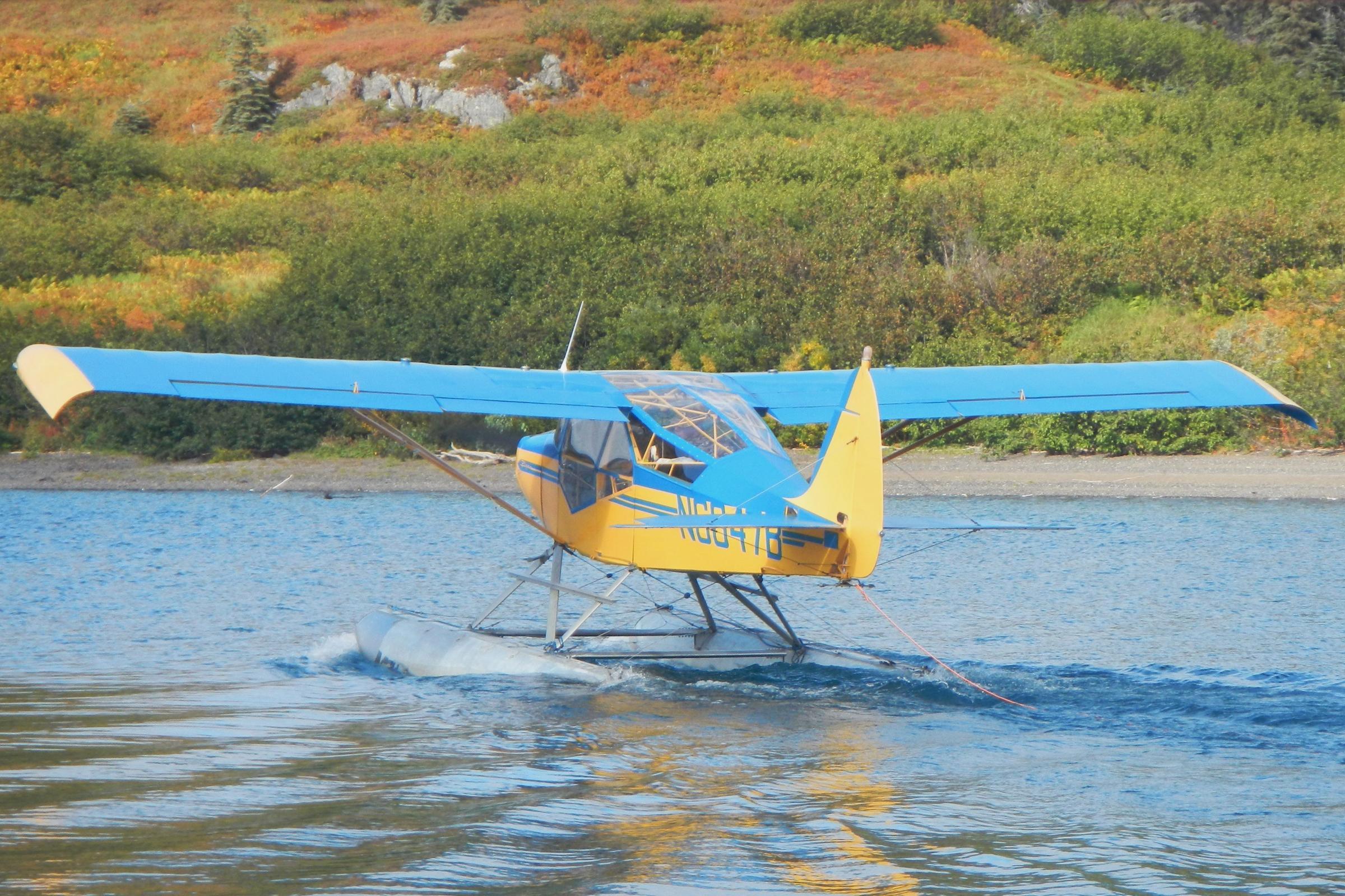 Float plane flipped on Naknek Lake | KDLG