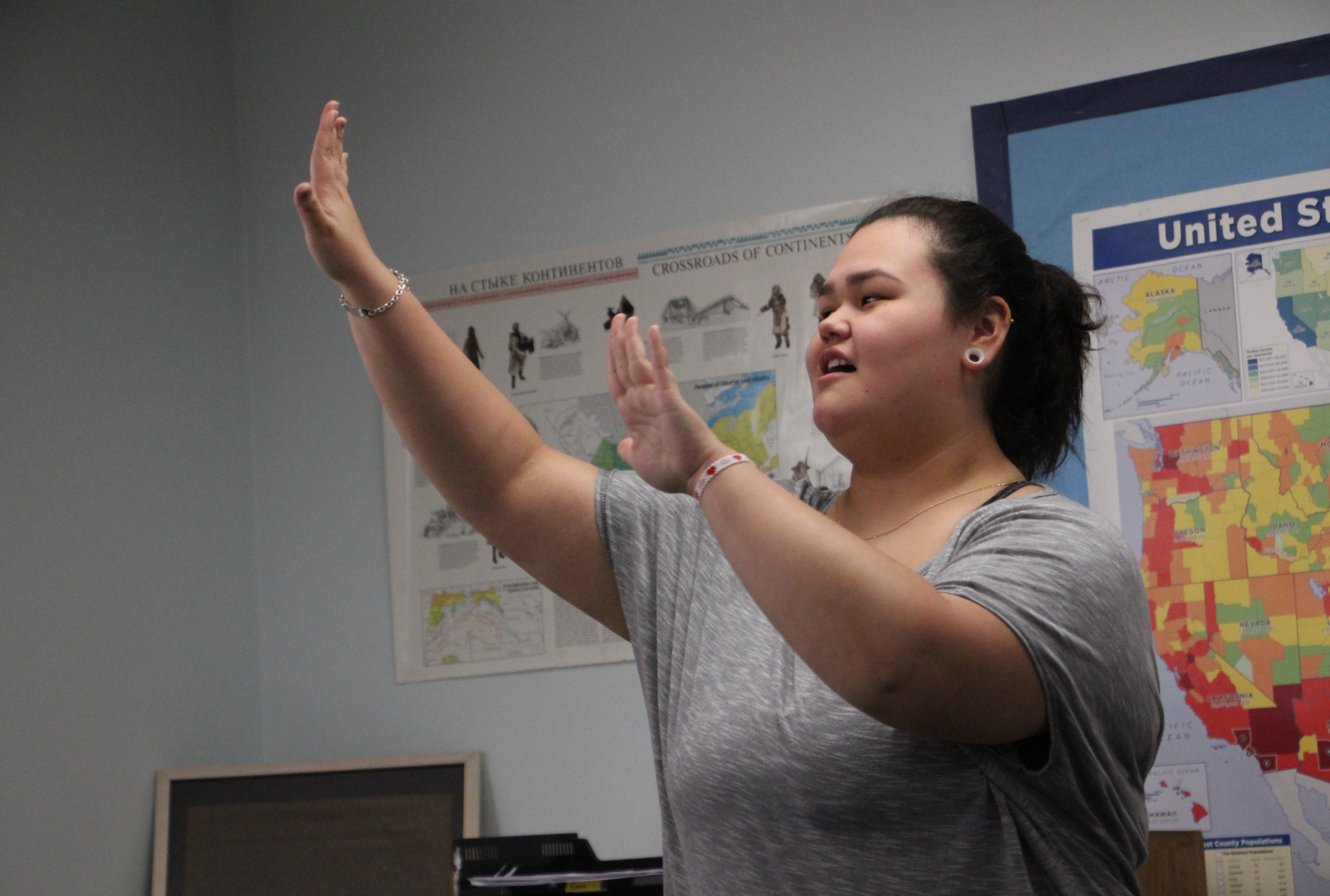 Bristol Bay students connect with Yup'ik language in class | KDLG