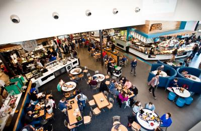Flavors: A New Concept in College Dining - Rendezvous Dining