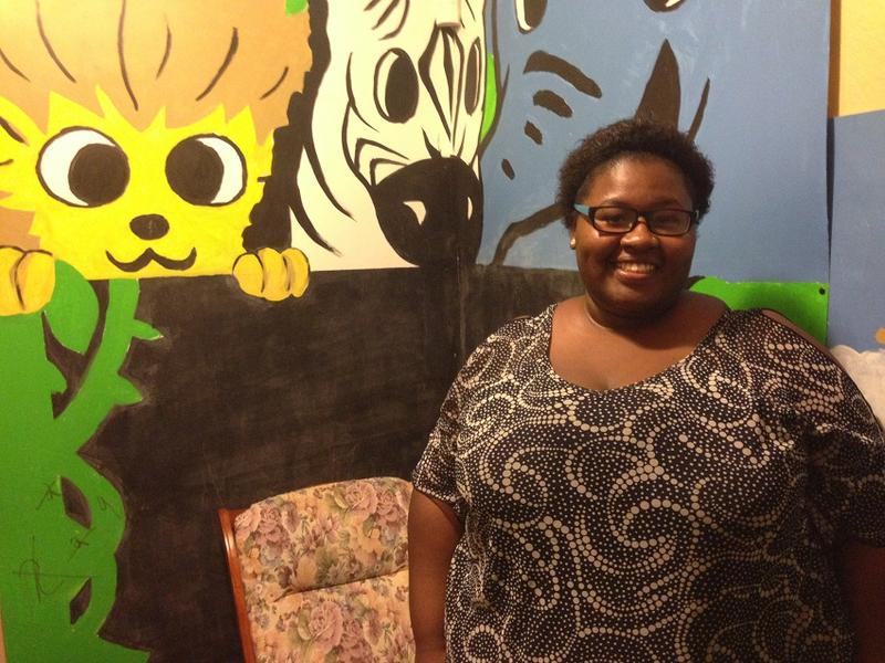 Shanterrica Piper got her GED thanks to a program at Alley's House, a Dallas nonprofit.