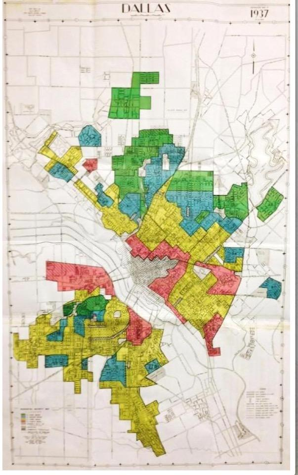 City Of Dallas Zoning Map on