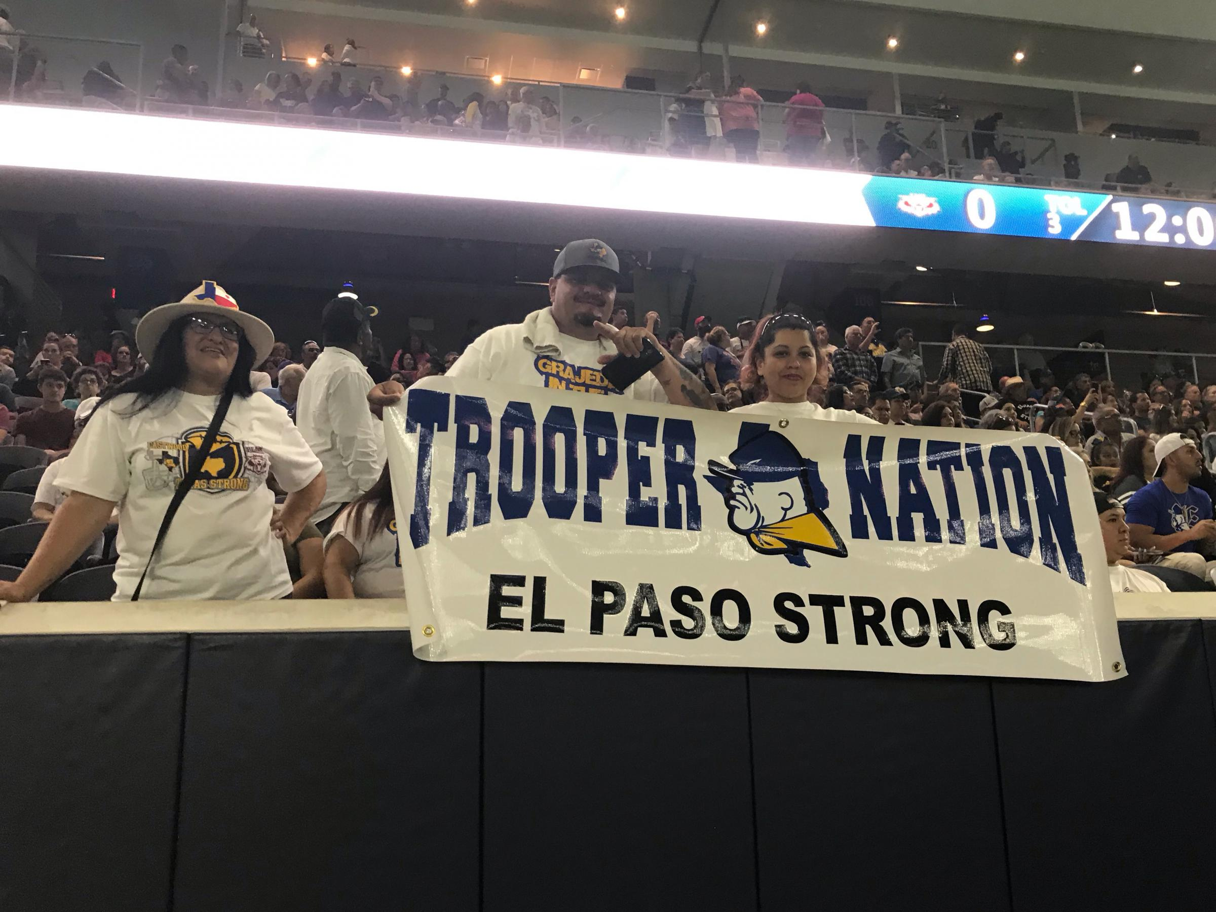 El Paso-Plano Football Game Highlights Unity Over Fear