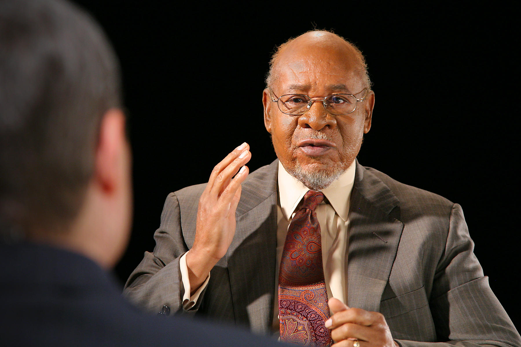 A Conversation With    George Henderson   KGOU