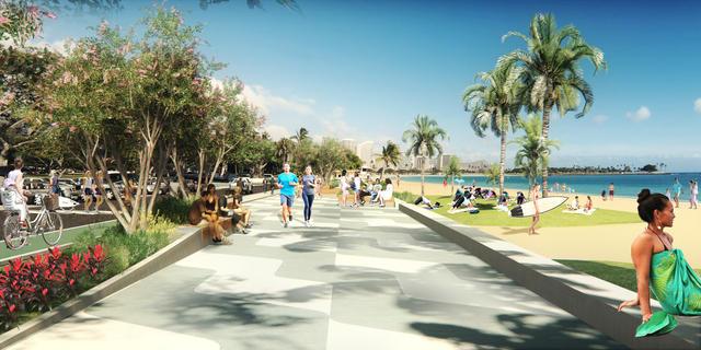 City Seeks Public Input On Ala Moana Beach Park Renovations Hawaii Radio