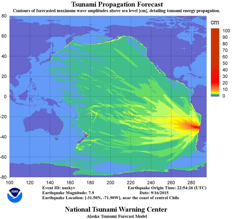 Tsunami Advisory Cancelled After Yesterday's Large ... on