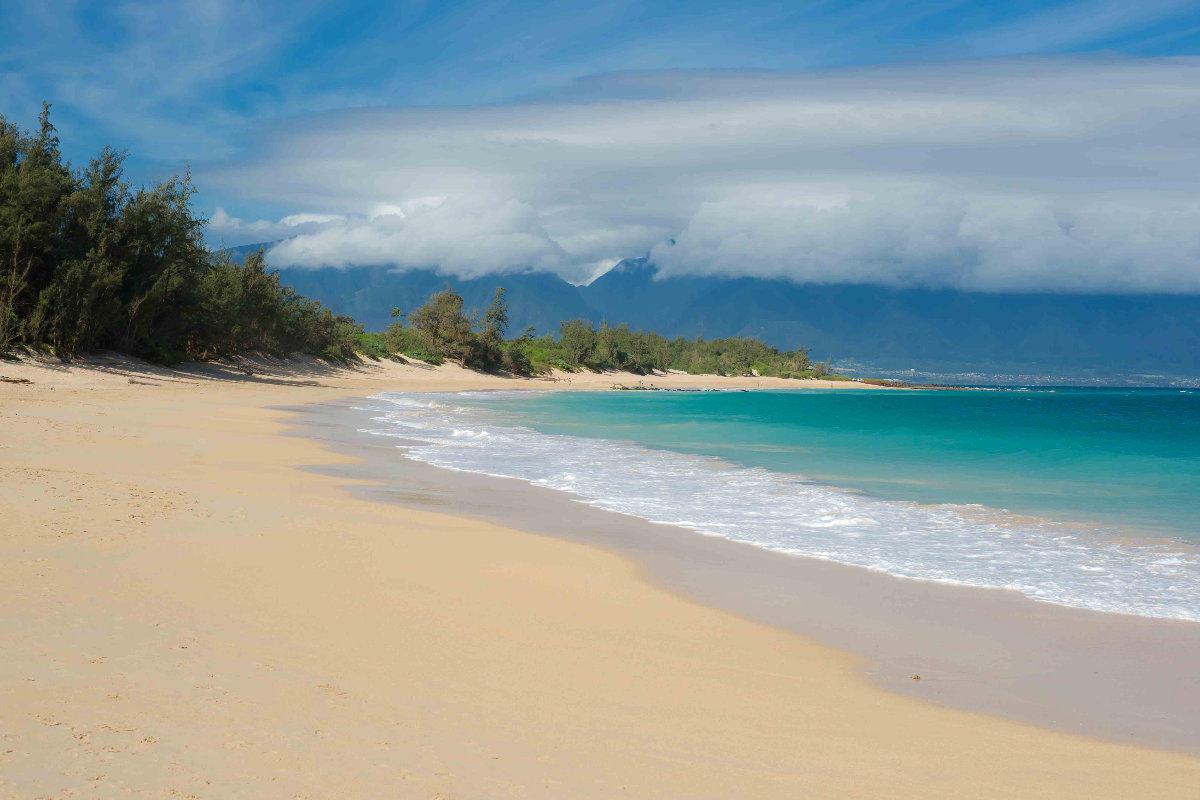 Maui Beach Prepares For Homeless Sweep