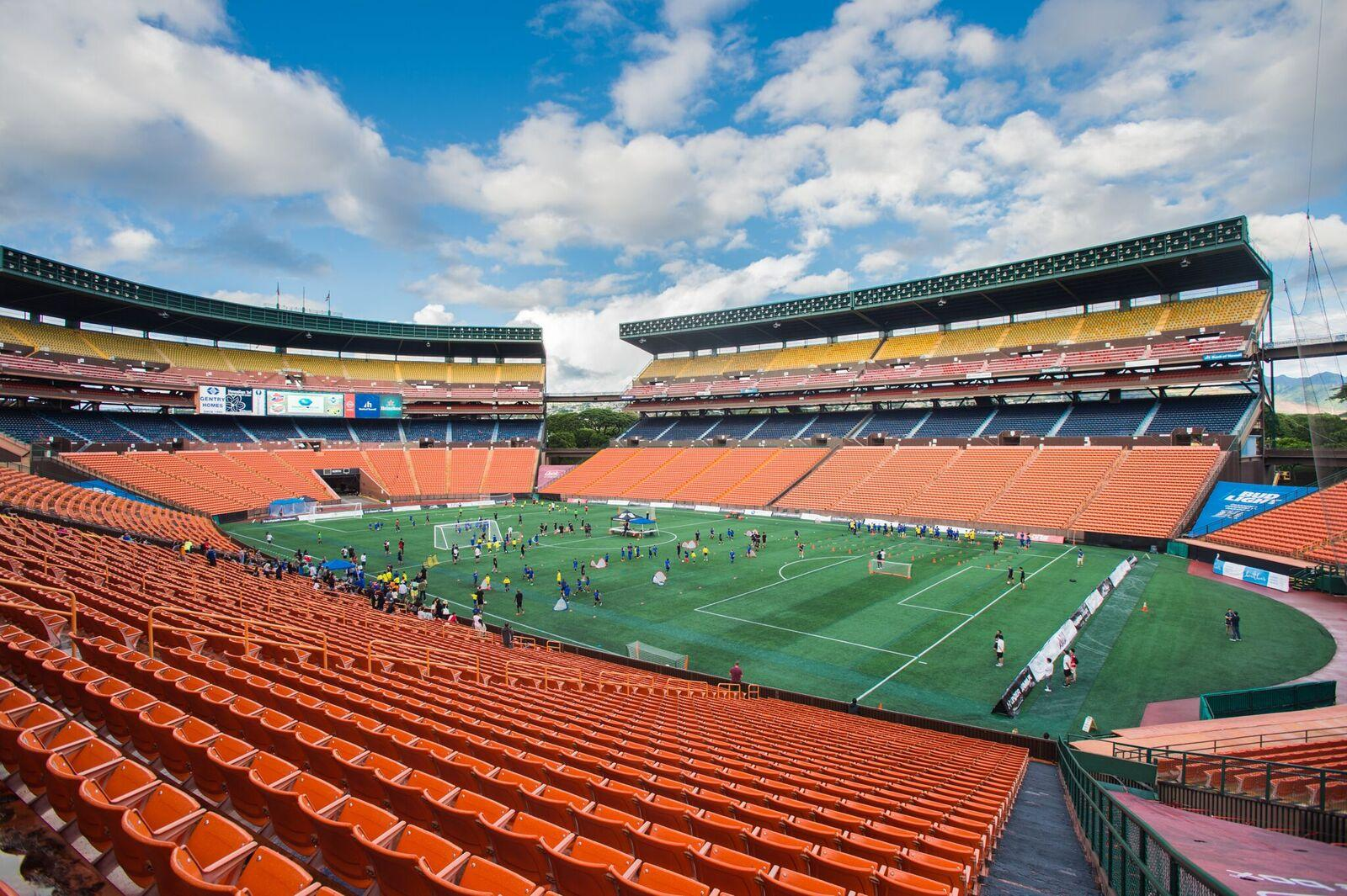 Soccer Pros Fill Aloha Stadium with Excitement, but Will It