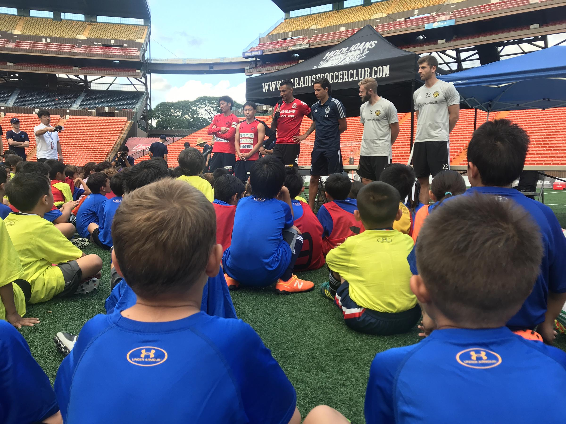 Soccer Pros Fill Aloha Stadium with Excitement, but Will It Last