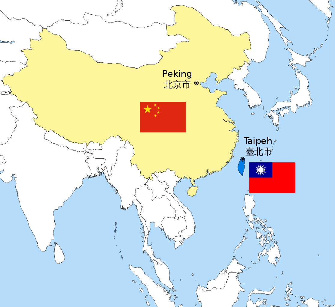 Map Of Asia Taiwan.Asia Minute The Naming Game Taiwan And China Hawaii Public Radio