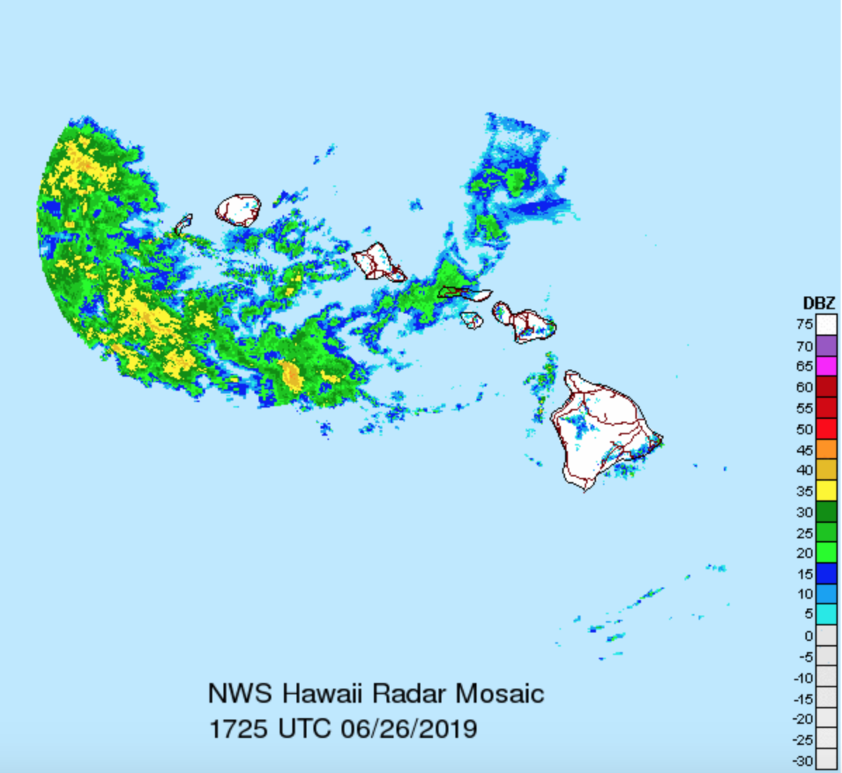 Flash Flood Watch Removed For Oahu, Remains For Kauai