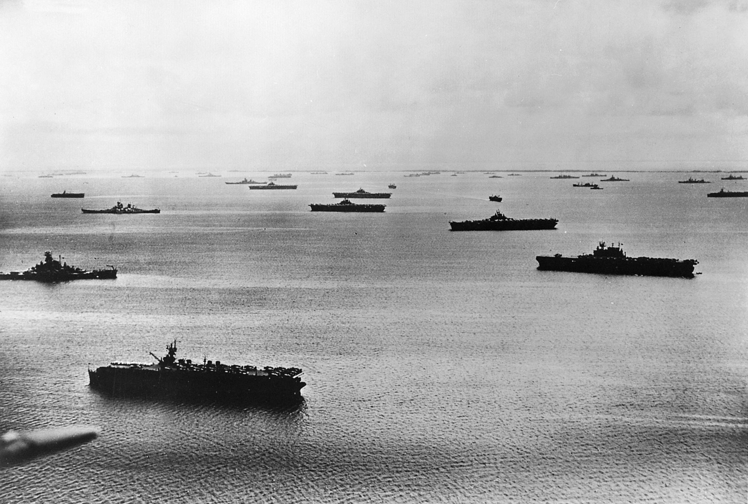 Resultado de imagen de saipan 1944 fleet