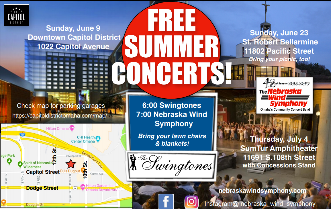 Nebraska Wind Symphony Offers Three Free Concerts Larry Mactaggart