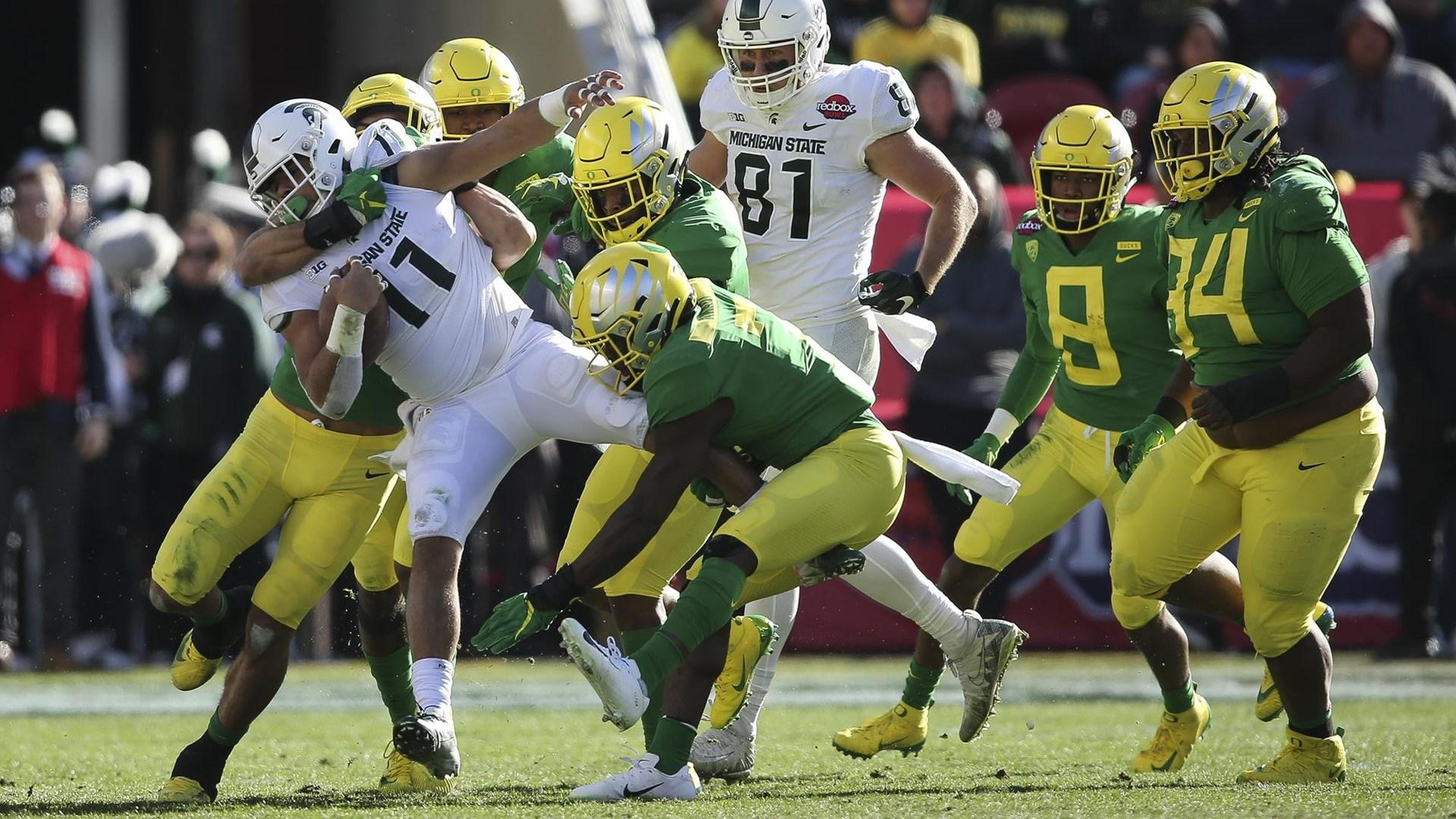 Ducks Beat Spartans In Redbox Bowl | KLCC