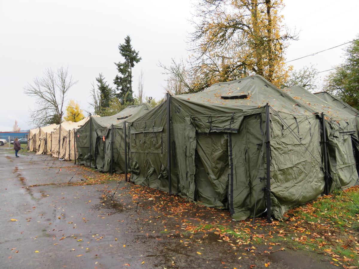 Eugene Approves Expansion Of Homeless Camp Programs | KLCC