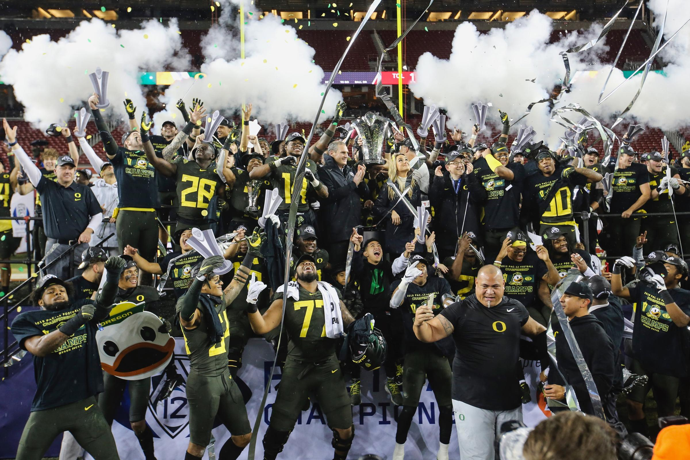 who is in the rose bowl 2020