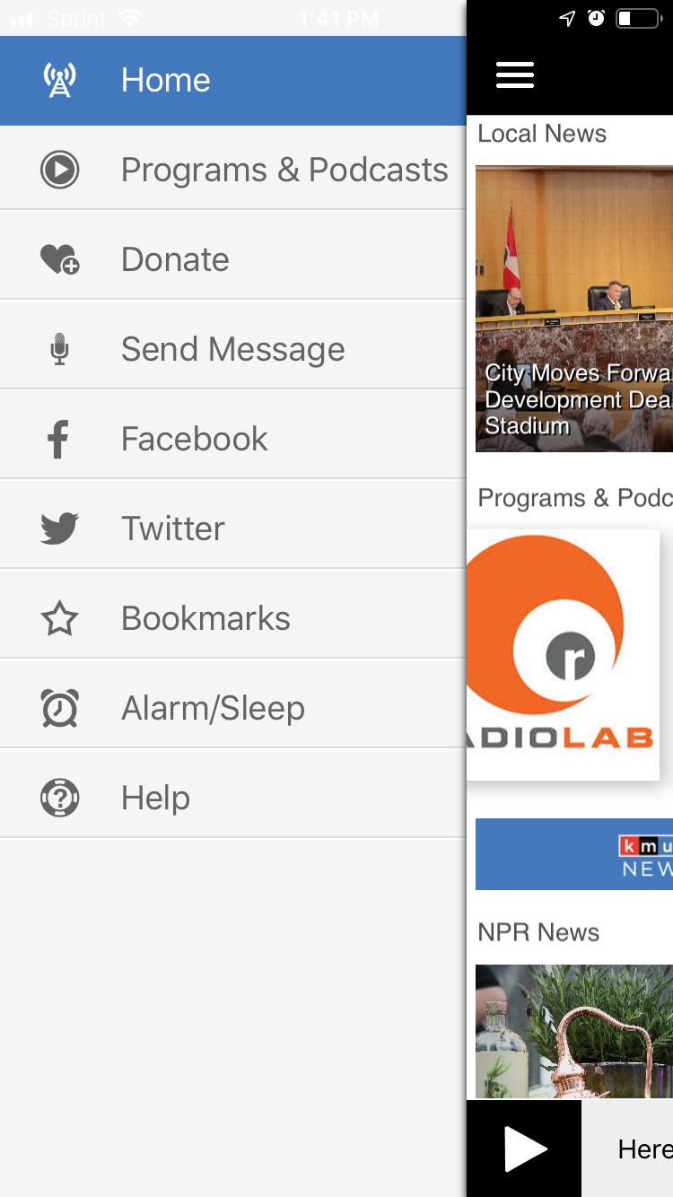 KMUW App | KMUW