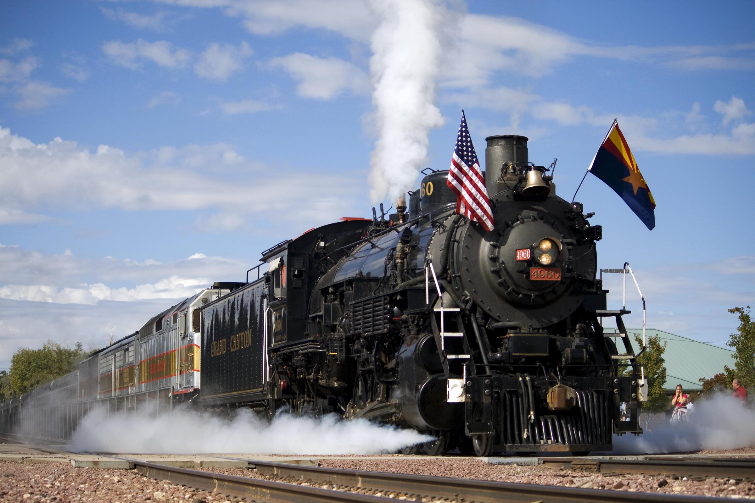 Grand Canyon Railway >> Ridership On Grand Canyon Railway Up In 2017 Knau Arizona Public Radio