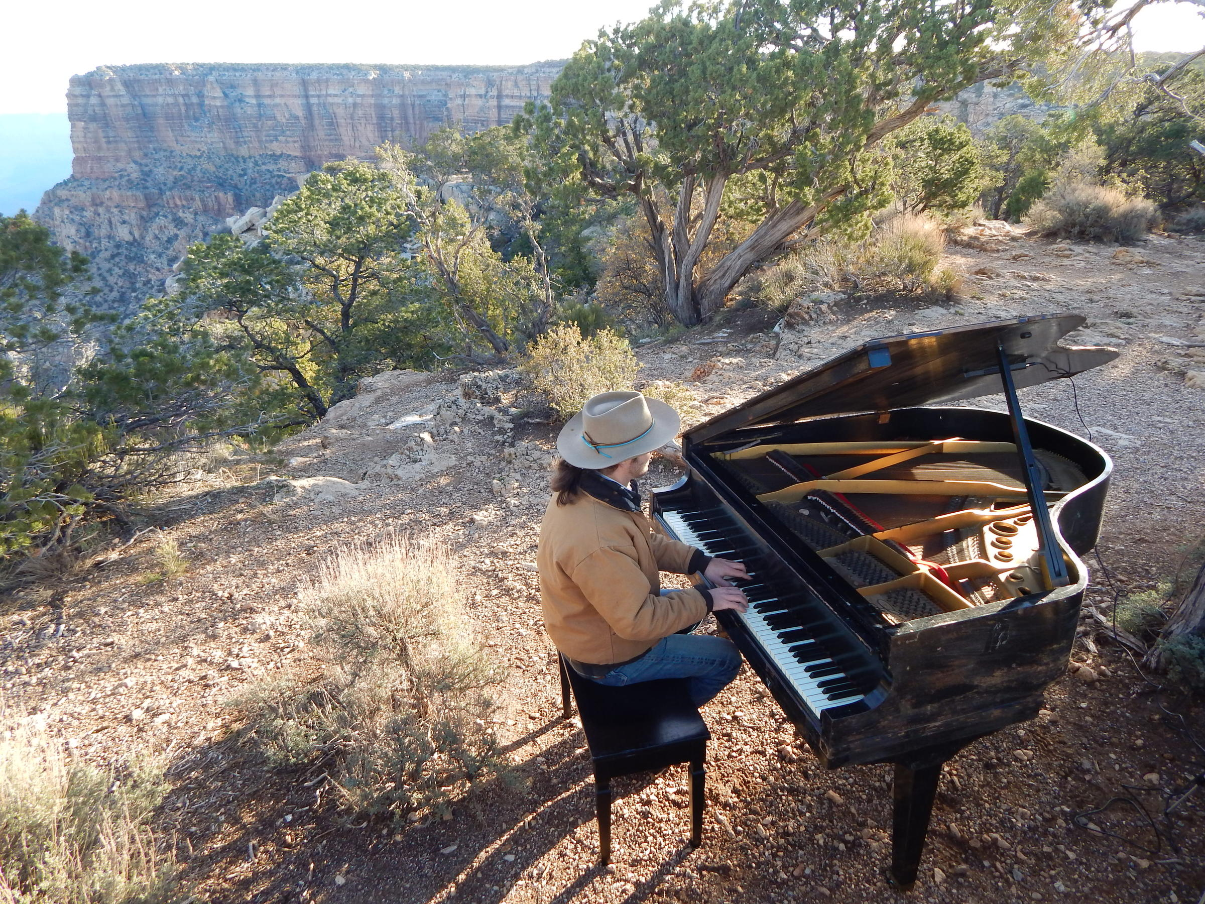 Eats and Beats: A Grand Piano in the Nation's Grandest Park | KNAU
