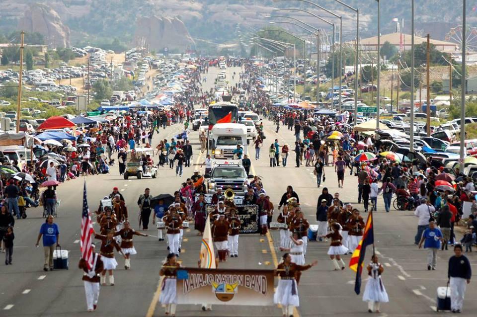 Northern Navajo Nation Fair 2020.Navajo President Bans Candy At Parade Knau Arizona Public