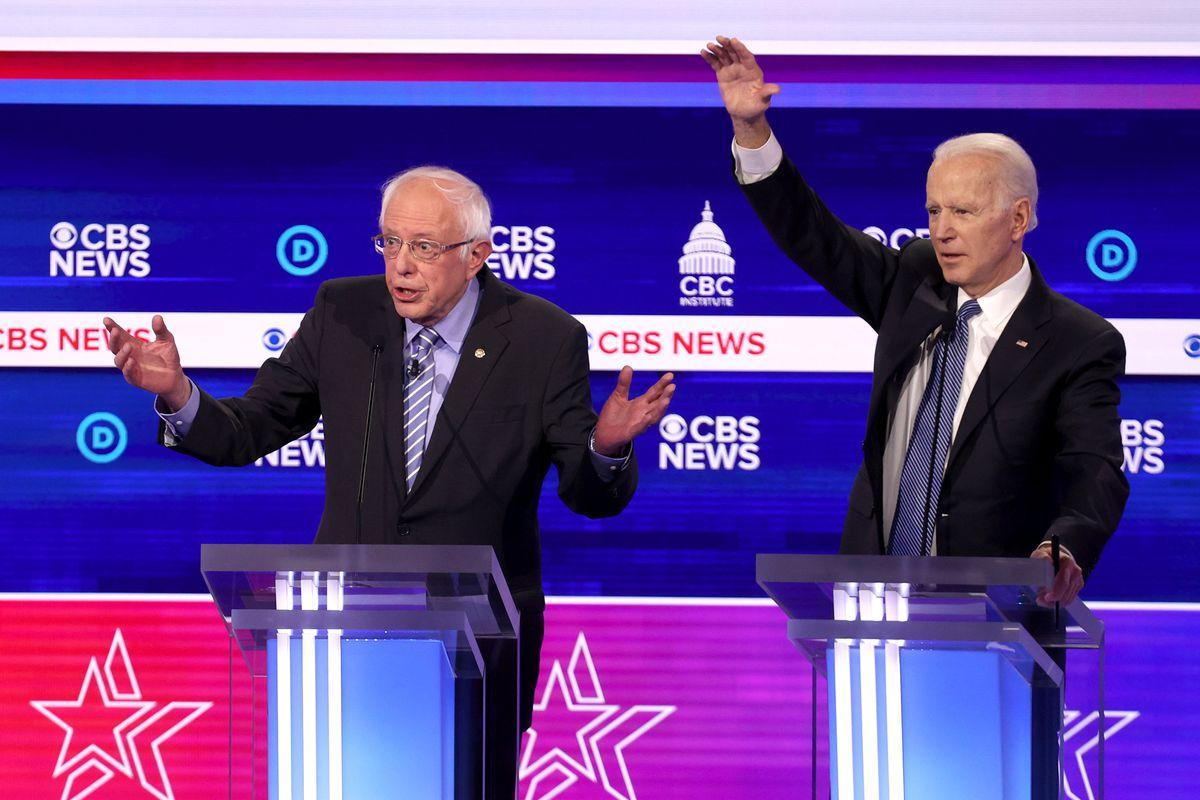 Sanders vows to stay in Democratic race after Biden secures lead