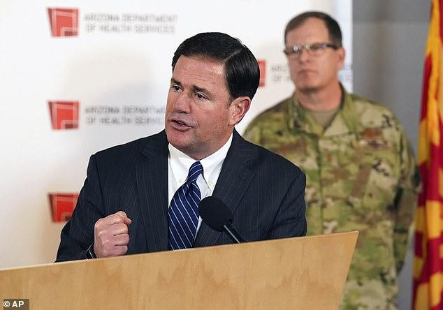 Governor Ducey Defends Decision To Reopen As Coronavirus Cases Surge in AZ